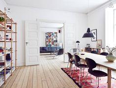 Airbnb Apartment in Østerbro, Copenhagen.
