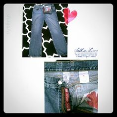 Just reduced: Lucky jeans Lucky brand jeans, pre loved and well taken care of. Size 14/32  Just reduced 2/17/16✔ Lucky Brand Jeans