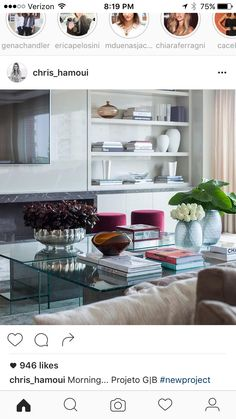 My Living Room, Bookcase, Shelves, Cool Stuff, Instagram Posts, Table, Design, Inspiration, Furniture