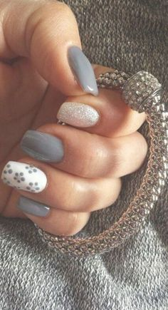 Are you looking for a nail art gel? So hurry up and take a look at our collection & The post Are you looking for a nail art gel? So hurry up and take a look at & appeared first on All Photos Hande Akılsepeti. Grey Nail Art, Pink Nail Art, Gray Nails, White Nails, White Nail Designs, Simple Nail Art Designs, Simple Art, Gel Nagel Design, Nagel Gel