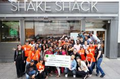 Shake Shack raised $338,346 — $40K MORE than our goal — this year through the 3rd Annual Great American Shake Sale.