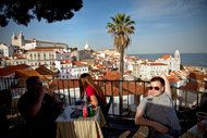 How I Fell for Lisbon - by @FrankBruni, The @nytimes Travel @nytimestravel May 25, 2012 | Photo: View from the Santa Luzia overlook. by Joao Pedro Marnoto for The New York Times | I didn't expect romance, but this city had other ideas. No must-see list or hard-fought reservations. It lets you in. | WE meet the places we wind up loving much the way we meet the people we fall for: on purpose and accidentally; at precisely the right moment and exactly the wrong time; in the highest of spirits..
