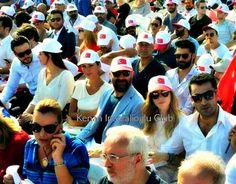#kenanimirzalioglu, #sinemkobal, #berguzarkorel, #halitergenc, #haticesendil, #buraksagyasar at #yenikapi rally (7/8/2016)