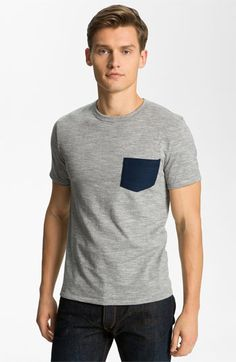 rag & bone Pocket Crewneck T-Shirt