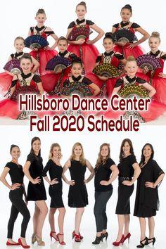 Hillsboro Dance Center releases their Fall 2020 Dance Class Schedule with classes for kids, tweens, teens, and adults. Class Schedule, Lets Dance, Dance Class, Tween, Oregon, Fall, Kids, Autumn, Young Children