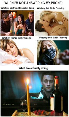 A romantic evening with Tom. @ <<><>> (Nightwing) N. you might like this lol