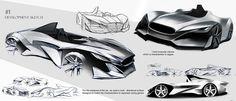 Jaguar GT sketches [2016] on Behance