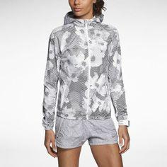 5fbfdfbbf816a Nike Printed Distance Chaqueta de running - Mujer Veste, Short De Course À  Pied,