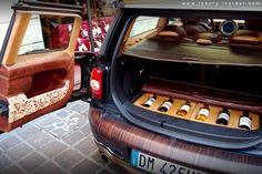 Clubman Chateau Mini Wine Cellar by Aznom - Luxury News