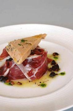 Post Recetas con jamón Ensalada de foie y jamón ibérico