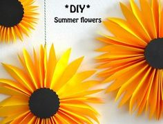 DIY papercraft, paperart, paperflowers