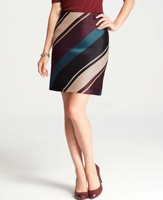 Academy Stripe Skirt - I have had this for months and still have not found the perfect top to wear with it......