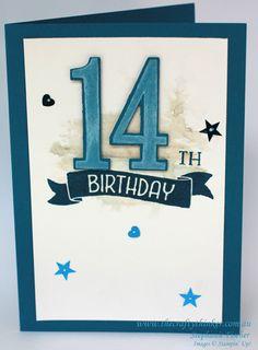 Stampin Up, #thecraftythinker, #GDP034, Teenage Boy birthday card                                                                                                                                                                                 More