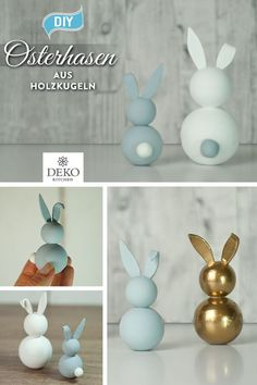 diy-aus-holzkugeln-suse-osterhasen-basteln/ delivers online tools that help you to stay in control of your personal information and protect your online privacy. Wooden Crafts, Wooden Diy, Diy And Crafts, Diy Osterschmuck, Christmas Baskets, Diy Easter Decorations, Diy Ostern, Basket Decoration, Wooden Dolls