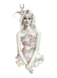 Birdy and Me Fashion Illustrations by Kelly Smith.