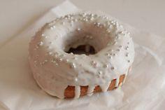a wedding donut.....lovely!