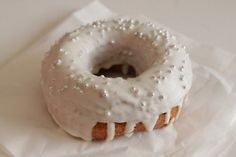 a wedding donut.....lovely!