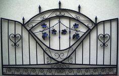 Recinzione in Ferro Battuto Wrought Iron Fence Clôture en fer forgé Zäune Valla