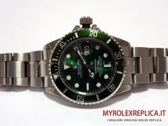 Rolex Submariner Date Replica Quadrante Verde