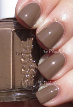 Essie Summer 2014 Collection Swatches - Fierce, No Fear is a medium brown creme. This is kind of a milk chocolate color. This feels like weird choice for a Summer Collection but I like it! The formula was good, it was easy to apply and the consistency was good. I used 2 coats for the photos below.