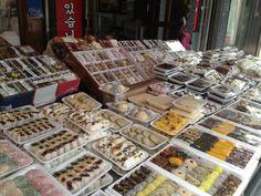 Tradicional Korean candies