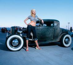 Pin Up Girls And Rockabilly Pin Up Girls, Car Girls, Hot Rods, Rockabilly Pin Up, Rockabilly Fashion, Rat Rod Girls, Pin Up Car, Up Auto, Audi