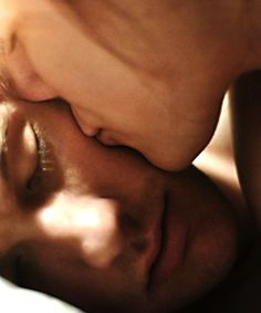 A soft kiss in the morning before I go...