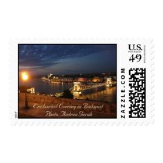 Enchanted Evening in Budapest Postage