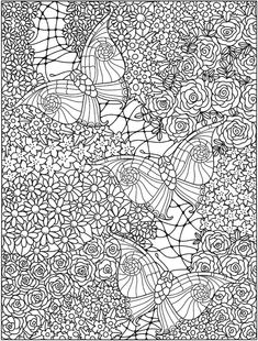 color Detailed Coloring Pages, Pattern Coloring Pages, Adult Coloring Book Pages, Colouring Pages, Coloring Sheets, Butterfly Coloring Page, Cat Coloring Page, Coloring For Kids, Free Coloring