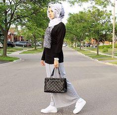 2017 Street Style Hijab Fashion – Girls Hijab Style & Hijab Fashion Ideas