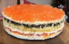 Осторожно! Не возможно остановиться после первого кусочка! Когда впервые его попробовала, была в восторге от сочетания соленой рыбки и апельсинов.