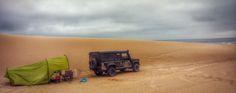#ani4x4 #camping #desert #morocco #seaside #Sahara #marruecos Land Rover Defender #landrover