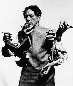 """ I am a liar that always speaks the truth ""- Jean Cocteau"
