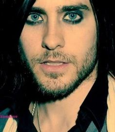 Jared Leto. Hottest man in eyeliner who ever walked the earth. True story.