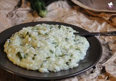 Risotto con le zucchine preparato con il Bimby