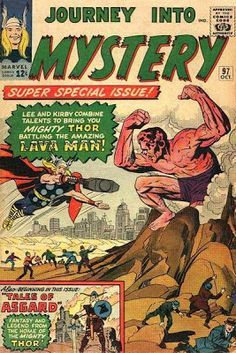 Journey Into Mystery #97. Thor vs the Lava Man.