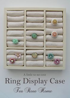 Turned a Dollar Store Find to a Ring Display Case