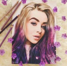 Here's a new portrait for magical Can't wait to hear your new song. Guys, I spent 26 hours to draw it so I hope my efforts will not go for nothing. [ Sabrina liked and commented. Bff Drawings, Amazing Drawings, Realistic Drawings, Art Drawings Sketches, Amazing Art, Sabrina Carpenter, Portrait Art, Pencil Portrait, Portraits