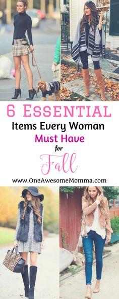 Are you starting to plan your fall outfits? Check out this 6 fall essential items every woman must have in her wardrobe, it is the ultimate guide and has everything you need for fall essentials. | fall must have | fall must haves | fall must haves fashion | fall must haves fashion | fall essentials | fall essentials fashion | fur vest | leggings | ankle boots | leather jacket | suede jacket | sleeveless vest | fall outfits women | fall outfits 2017 | fall fashion 2017 | fall fashion outfits