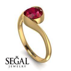 Vintage Bezel Twist Ruby Ring - Everly No. Bezel Diamond Rings, Bezel Ring, Diamond Wedding Rings, Halo Diamond, Black Diamond Engagement, Perfect Engagement Ring, Rings Cool, Unique Rings, Type 100