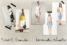 Resort Trends: Bermuda Shorts