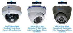 IP Bullet Cameras is a comparatively small IP bullet camera that can be placed inside homes and businesses or outdoors homes and businesses. The wires for the Bullet IP camera are also typically covered inside the body of the camera or its housing.
