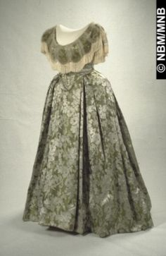 Dress, ca. 1858, New Brunswick Museum
