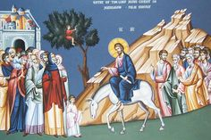 Palm Sunday, Icon of Christ