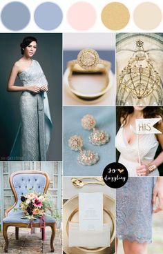 ธีมงานแต่งงานสีฟ้า สีทอง,ธีมงานแต่งงานแบบไทย