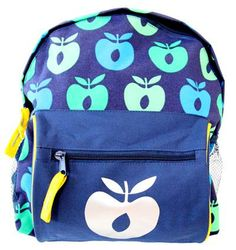 Smafolk Backpack - Blue apple Retro Baby Clothes - Baby Boy clothes - Danish Baby Clothes - Smafolk - Toddler clothing - Baby Clothing - Bab...