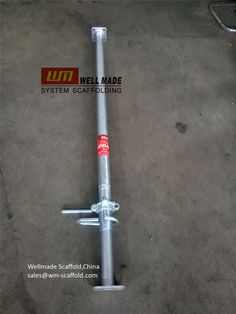 China Leading OEM Scaffolding Manufacturer: Integrated Heavy Steel Prop to Europe-Multi Slab P.