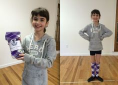 Lovely photos of a very bonnie lassie! Evelyn showing off her new #Bonnie #Tartan #hose to match her Scott Special Dress Purple tartan from Marg's Highland Dance Wear. Photo courtesy of Tina Bennett and the West Virginia Highland Dancers.