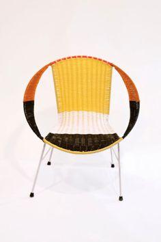 Marni® Nice, colorful wicker furniture.