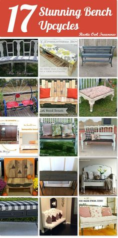 17 stunning bench upcycles